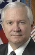 Robert Gates.