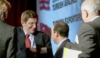 Marc Grossman at an American-Turkish Council meeting in 2005.