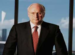 Cheney while CEO of Halliburton.