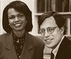 Condoleezza Rice and Philip Zelikow.