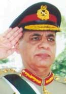 Lt. Gen. Ehsan ul-Haq.