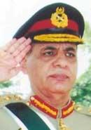 Lt. Gen. Ehsan ul-Haq.