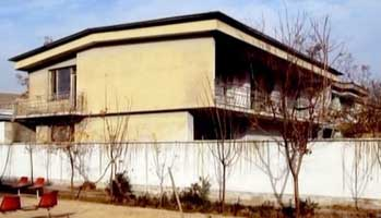 Ummah Tameer-e-Nau&#8217;s headquarters in Kabul.
