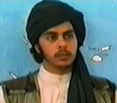 Abdulaziz Alomari, from a video apparently made in spring 2001.
