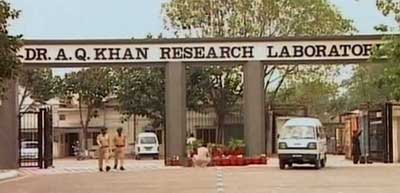 Khan Research Laboratories in Kahuta.