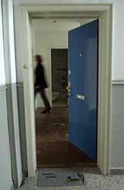 A view inside Atta's Marienstrasse flat.