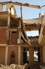 The destroyed Al Shifa factory.