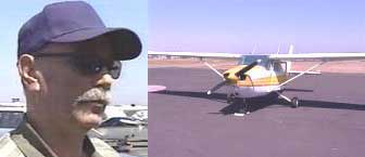 Fred Sorbi, and the Cessna 172 used by the hijackers.