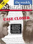 """Case Closed"" magazine cover."