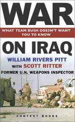 <i>War on Iraq</i> book cover.