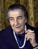 Golda Meir.
