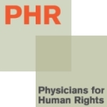 Physicians for Human Rights logo.