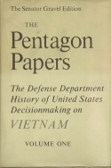 Book cover of the Pentagon Papers.