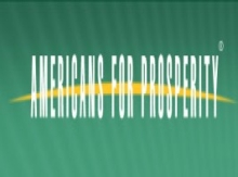 Americans for Prosperity logo.