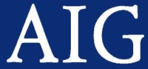 AIG logo.