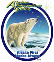 Alaskan Independence Party logo.