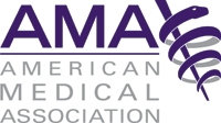 American Medical Association logo.