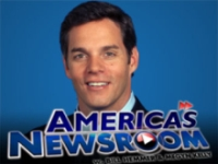 &#8217;America&#8217;s Newsroom&#8217; advertisement featuring Bill Hemmer.