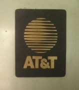 A portion of the outer door of AT&T&#8217;s Folsom Street facility.