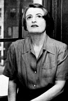 Ayn Rand in her youth.