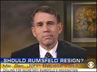 John Baptiste, appearing on a CBS News broadcast.