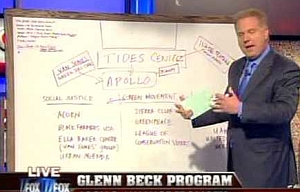 Glenn Beck discusses the Tides Foundation during his Fox News broadcast.