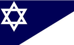 The flag of the Branch Davidians.