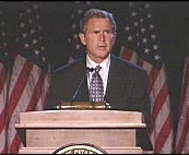 George W. Bush at The Citadel.