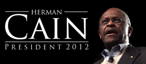 An unofficial logo for the Cain presidential campaign.