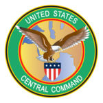 Official logo of US Central Command (CENTCOM), one of the nine military commands established under the Defense Reorganization Act.