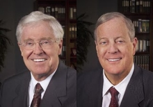 Charles and David Koch.