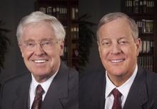 Charles and David Koch.