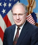 Dick Cheney's official photo as Secretary of Defense.