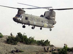 A Chinook helicopter similar to the one shot down near Fallujah.