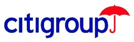Citigroup logo.