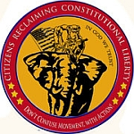 Citizens Reclaiming Constitutional Liberties PAC logo.