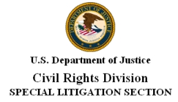 Civil rights division logo.