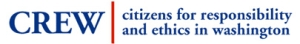 Citizens for Responsibility and Ethics in Washington logo.
