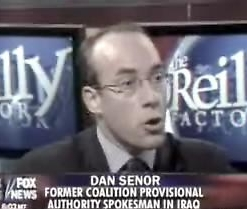 Dan Senor.