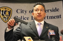2007 picture of Davy Aguilera, at that time as  assistant special agent in charge of the Los Angeles BATF bureau.