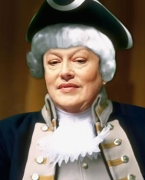 An image of Dede Scozzafava, altered by a conservative activist to make her appear as Revolutionary War traitor Benedict Arnold.