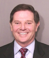 Police photo of Tom DeLay, after his 2005 indictment on election fraud charges.