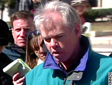 Denis Collins, in a photo taken shortly after the Libby verdict was rendered.