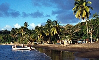Douglas Bay, Dominica.