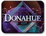 &#8217;Donahue&#8217; show logo.