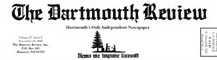 The masthead of the Dartmouth Review (2005).