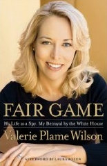 The cover of Plame Wilson&#8217;s &#8216;Fair Game.&#8217;