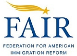 Logo of the Federation for American Immigration Reform (FAIR).
