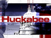 A screenshot of the logo for Mike Huckabee's Fox News show.