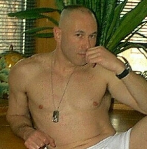 One of the photos Gannon/Guckert posted of himself on the Internet advertising his services as a male prostitute.